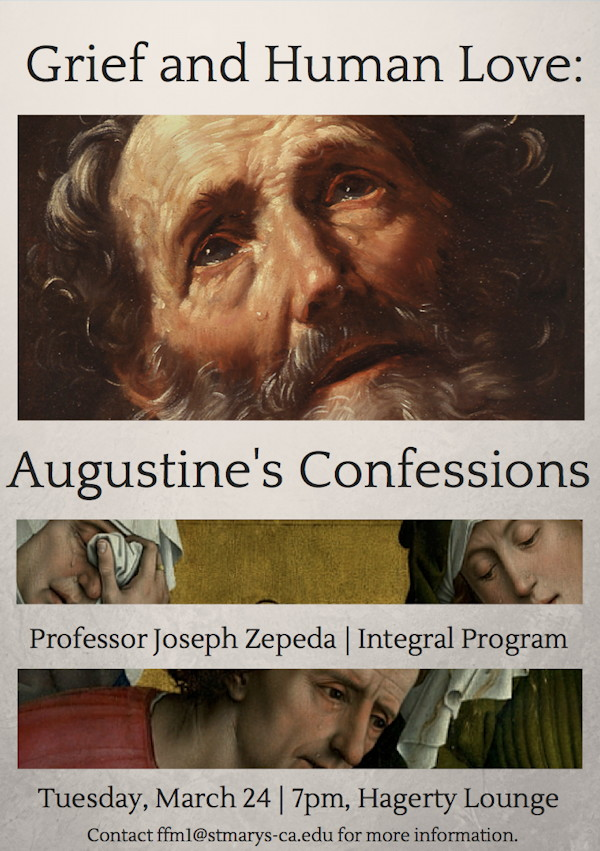 zepeda augustine lecture poster